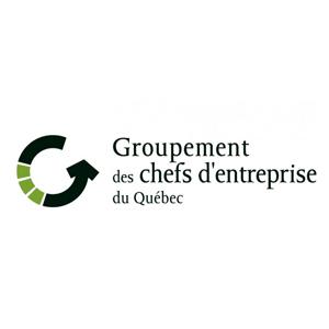 logo groupement des chefs d'entreprise du québec